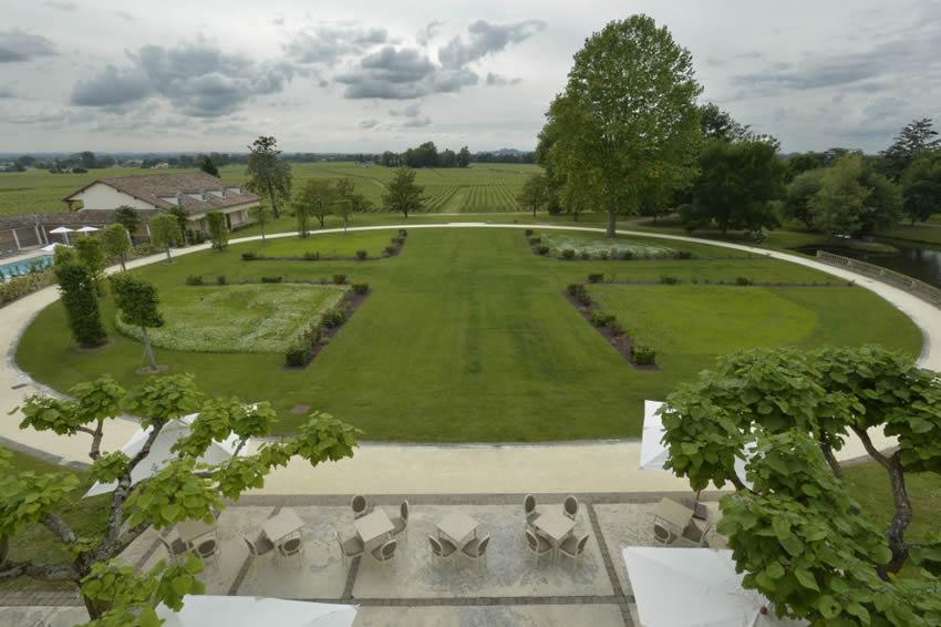 Breathtaking View at Château Grand Barrail