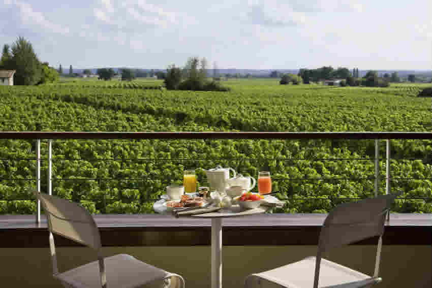 Château Grand Barrail Stunning View