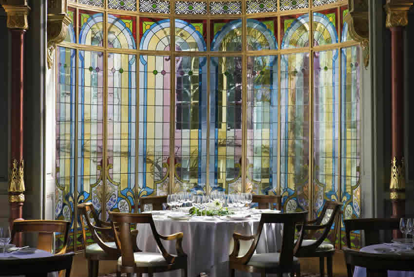 The Dining Room at Château Grand Barrail