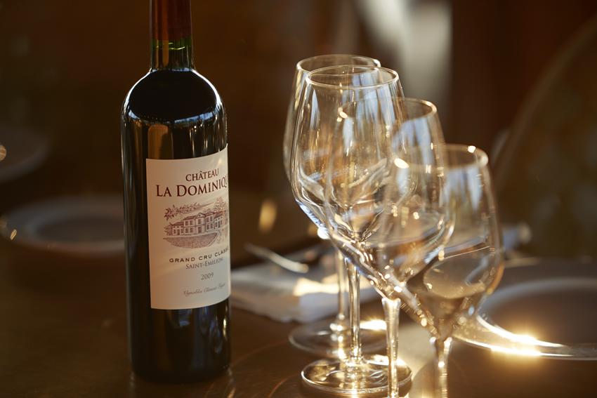 Wine Tasting at Château La Dominique