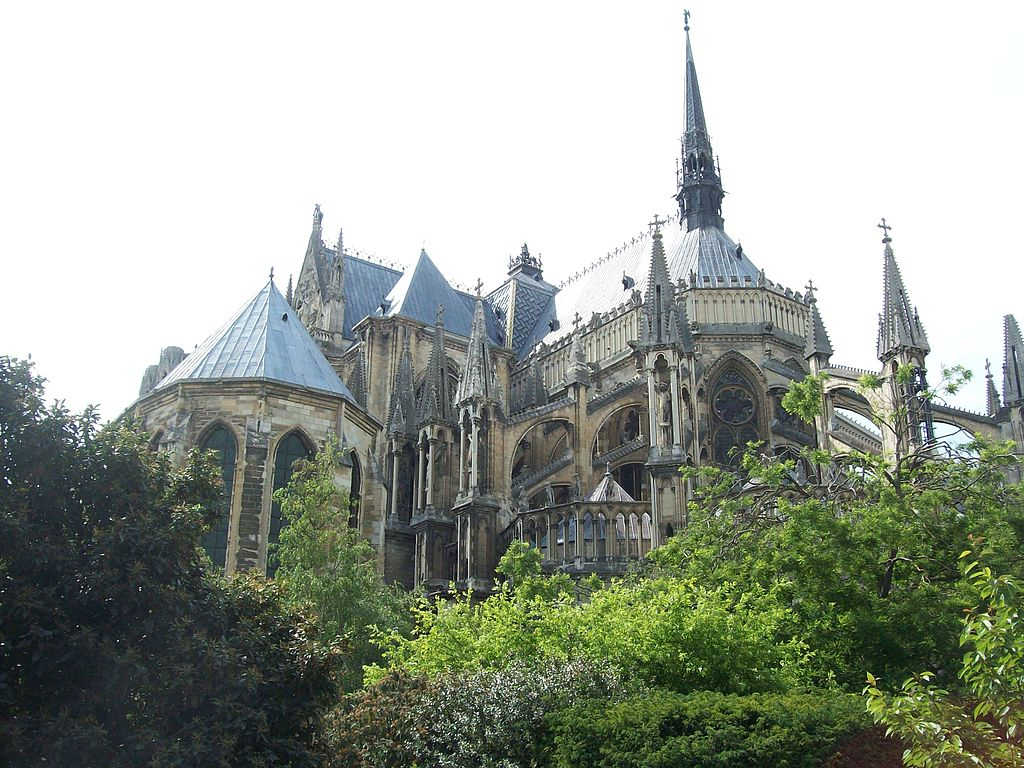 Reims Cathedral Where The Kings of France Were Crowned
